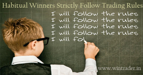 winners follows the trading rules with best buy sell signal software