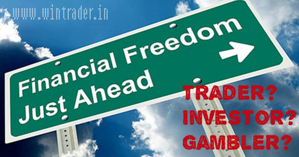 trader-investor-gambler in trading