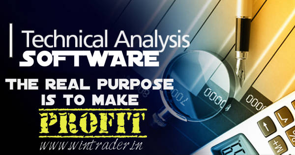 Technical analysis software, the real purpose to make profit in trading