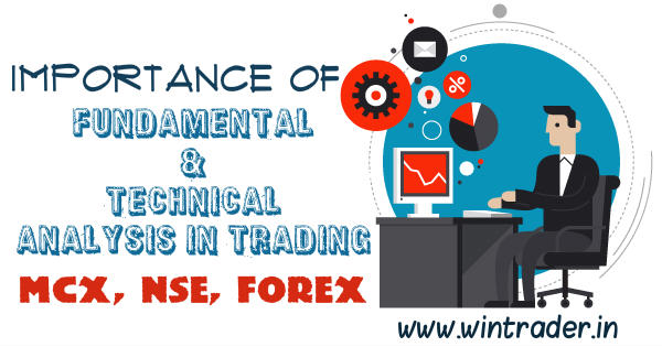 importance of fundamental and technical analysis in trading forex, mcx, nse