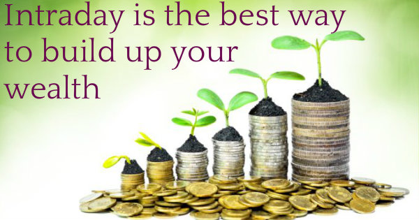 Day trading is the simple way ro building  wealth