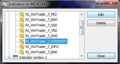 wintrader trend strength